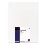 Exhibition Fiber Paper, 13 x 19, White, 25 Sheets