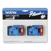 for Brother P-Touch TC Laminated Tape 0.5 Inch x 25 Laminated Tape TC11