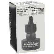 Higgins Black Magic Waterproof India Ink, 30ml, Black