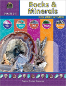 Teacher Created Resources TCR3666 Rocks and Minerals Gr 2-5