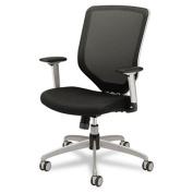 Hon MH01MM10C Boda Series High-Back Work Chair Padded Mesh Seat Mesh Back Black