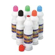 Sponge Paint Set, 6 Assorted Colors, 2.2 oz, 6/Set