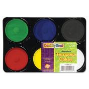Chenille Kraft Temper Cakes 6 Assorted Colours