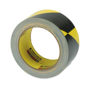 3M 57022 Caution Stripe Tape 2w x108 ft. Roll