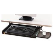 Under Desk Keyboard Drawer, 23w x 14d, Black