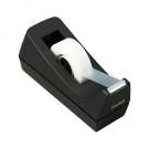 "Desktop Tape Dispenser, 1"" Core, Weighted Non-Skid Base, Black"