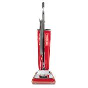 Quick Kleen Commercial Vacuum w/Vibra-Groomer II, 17.5lb, Red