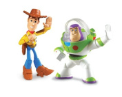 Toy Story 3 Buddy 2Pack Protector Buzz Lightyear & Waving Woody