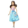 Barbie Modern Princess Party Doll - Blue & Pink