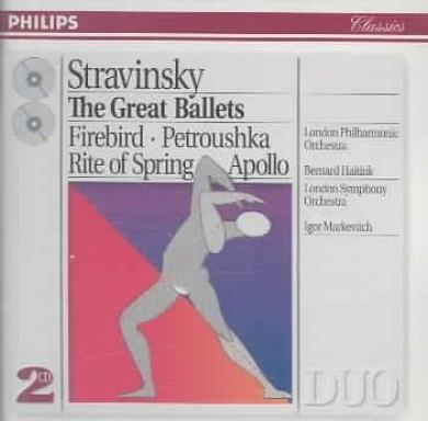 Stravinsky: The Great Ballets [2 CDs]