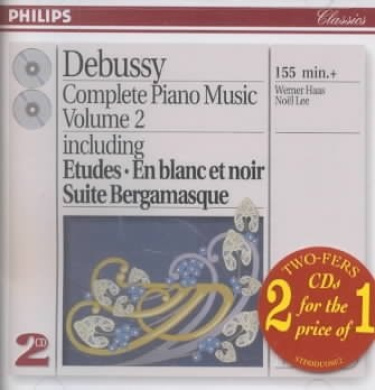 Debussy: Complete Piano Music Vol.2 [2 CDs]