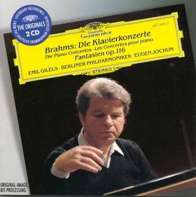 Brahms: The Piano Concertos; Fantasias Op.116 [2 CDs]