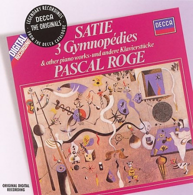 Satie: 3 Gymnop?dies and Other Piano Works