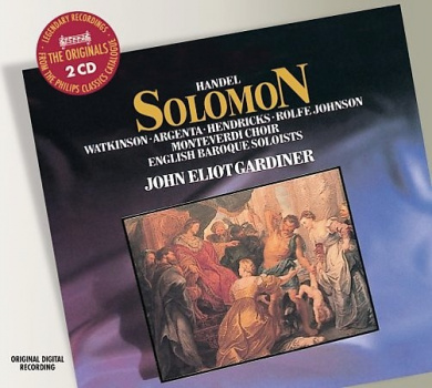 Handel: Solomon / Gardiner, Watkinson, Argenta, Hendricks