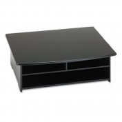 Rolodex 82431 Wood Tones Printer Stand 21w x 18d Black
