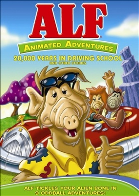 Alf Animated Adventures - Vol. 1 [Region 1]: 20,000 Years in Driving School and Other Stories