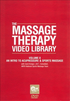 Massage Therapy Video Library - Volume 8: An Intro To Accupressure & Sports Massage