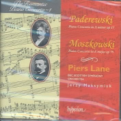 Paderewski: Piano Concerto in A minor, Op. 17; Moszkowski