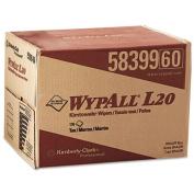 WYPALL L20 Wipers, 12 1/2 x 16 4/5, Brown, 176/BRAG Box