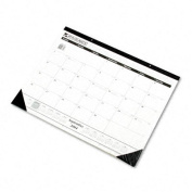 Academic 16-Month One-Color Monthly Desk Pad/Wall Calendar, 22 x 17