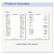 C-Line Products- Inc. CLI05587 Top Load Sheet Protector- 8 Tab- 8-.50in.x11in.- Clear