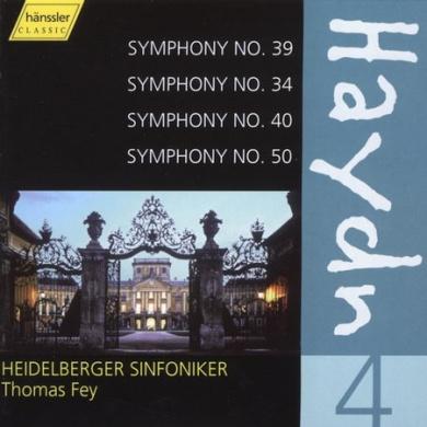Haydn: Symphonies Nos. 39, 34, 40, 50