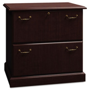 Syndicate Collection Two-Drawer Lateral File, Mocha Cherry