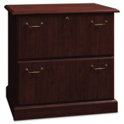 Syndicate Collection Two-Drawer Lateral File, Harvest Cherry