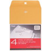 Clasp Envelopes 23cm x 30cm 4/Pkg-Heavy Kraft
