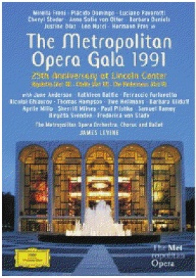 The Metropolitan Opera Gala: 25th Anniversary