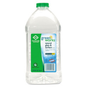 Green Works 00460 Commercial Solutions Glass and Surface Cleaner, 1890ml Refill
