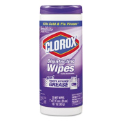 Clorox 01654 Disinfectant Wipes- Cloth- Lavender- 35 Wipes/Canister