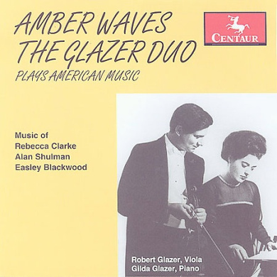 Amber Waves - The Glazer Duo plays American music