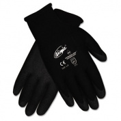 Ninja HPT PVC coated Nylon Gloves, Extra Large, Black, Pair