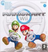 Mario Kart + Wii Steering Wheel Latin America Edition [Region 4]