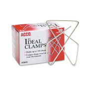 WMU Ideal Clamps Steel Wire Large - 2-.63 in.- Silver- Case of 2