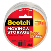 """Scotch Long Lasting Moving & Storage Packaging Tape 1.88""""x54.6-yd."""