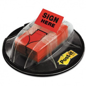 Post-It Note Pad Holders 2.5cm . x 4.3cm . Red Message Flags (200 per Desk Grip Dispenser) 680-HVSHR