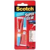 Scotch Single Use Super Glue, 1/2 Gram Tube, Liquid