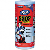 Scott 'Original Blue' Shop Towels, (1 Roll of 55 sheets) Kimberly-Clark