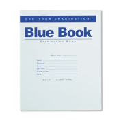 Exam Blue Book, Legal Rule, 8-1/2 x 7, White, 8 Sheets/16 Pages