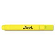 Gel Highlighter, Fluorescent Yellow, Bullet, 2 per Pack