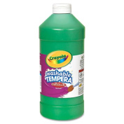 . Llc Formerly Binney & Smith Bin313244 Tempera Paint 950ml Green