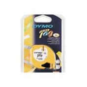Dymo 16952 LetraTag Tape Black on Clear 1/2 x 13 Plastic