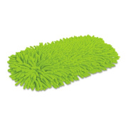 Quickie 0604 Green Cleaning Soft& Swivel Dust Mop Refill- Microfiber/Chenille- Green- Each