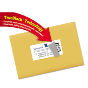 Avery(R) Shipping Labels with TrueBlock(R) Technology for Inkjet Printers 8163, 5.1cm x 10cm , Pack of 250