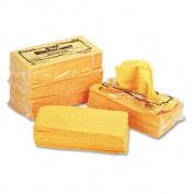 Chix 0416 Stretch ?n Dust Dusters- Cloth- 23-1/4 x 24- Orange/Yellow- 20/Bag- 5/Carton