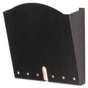 Safco 5654BL HIPPA-Compliant Wall Pocket Letter Black 12 x 3 x 10 .75
