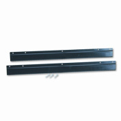 Safco 9200BL E-Z Stor Wall Mounting Brackets in Black