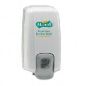 MICRELL NXT Lotion Soap Dispenser, 1000mL, 5 1/8w x 3 3/4d x 10h, Dove Gray